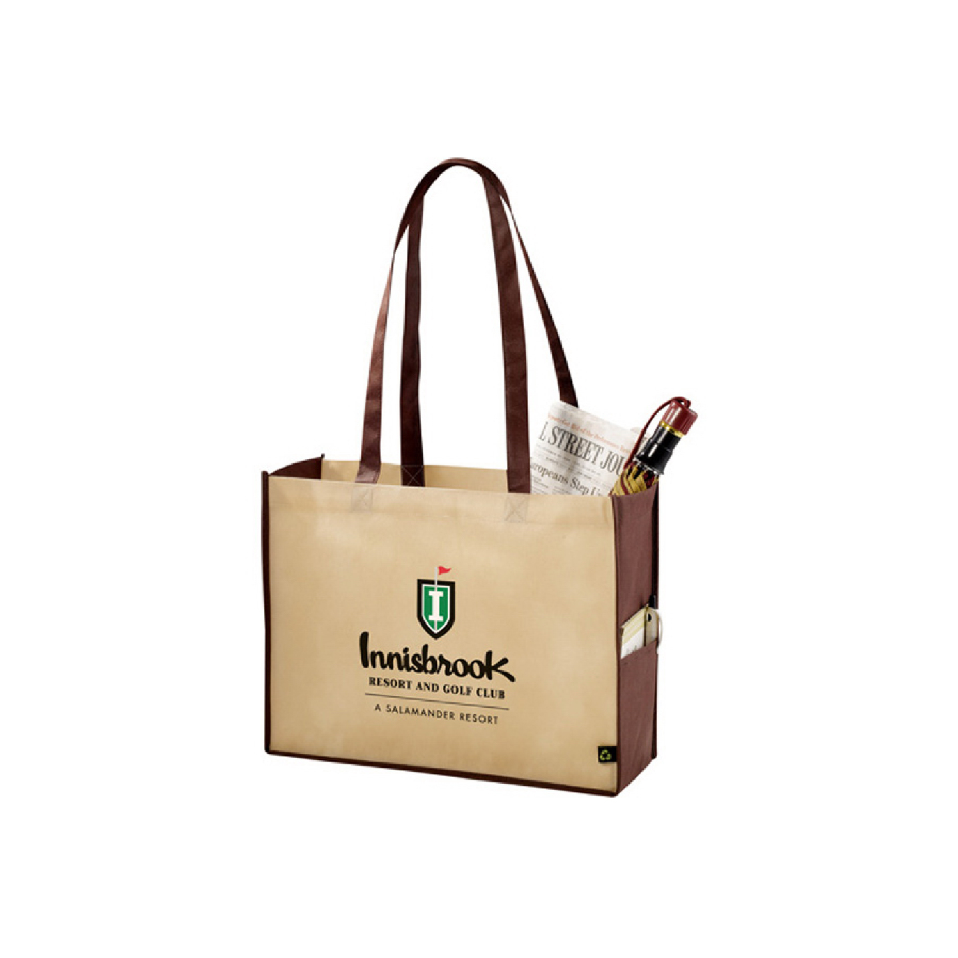 recycled customized tradeshow bag