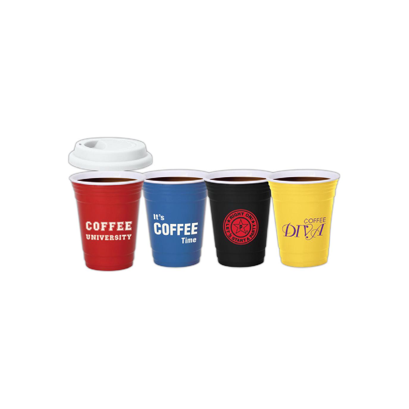 reusable ceramic coffee event cups