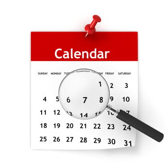 Promotional Products Event Calendar