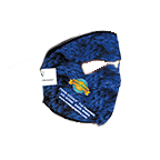 12024CP Full Color Neoprene Full Face Mask