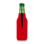 1022 Screenprinted Foam Zipper Bottle