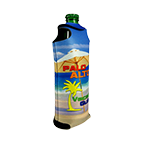 1069 Full Color Foam Water Bottle Cool-Apsible