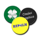 1041 Repelm - Insect Repellent Stick-on Button