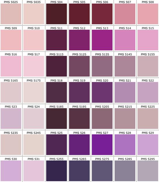 pantone colors chart pdf - Military.bralicious.co