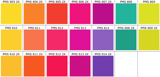 PMS Color Chart - Real Access Promotional Products Creative Business