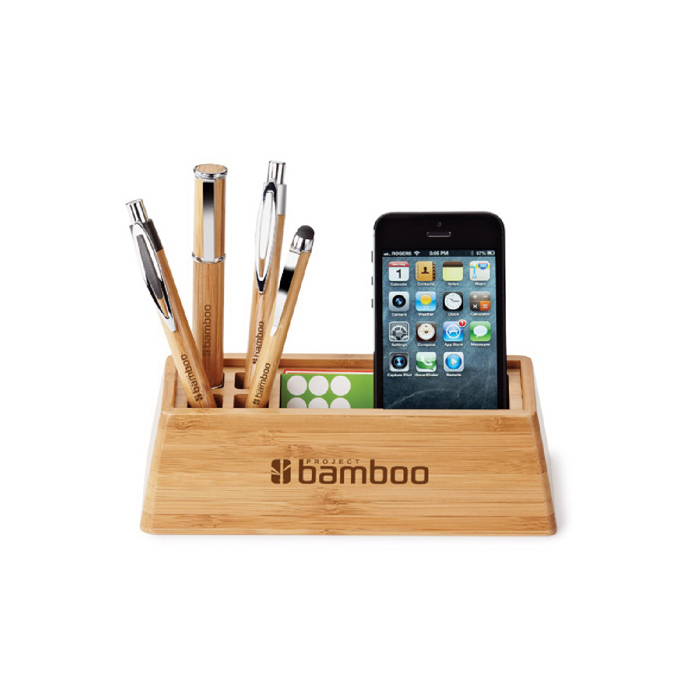 custom eco desk organizer