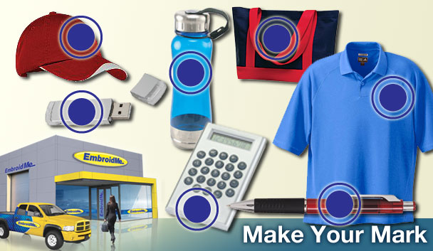 EmbroidMe offers Local, Expert Quality to all of our Embroidery & Promo Product clients needs.
