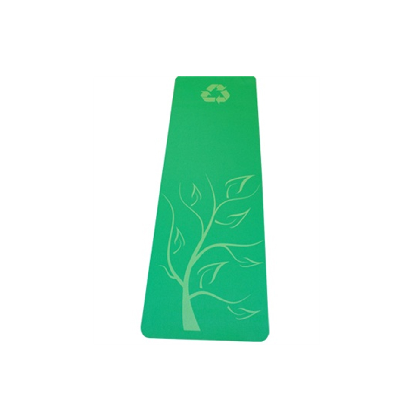 custom recycled rubber yoga mat