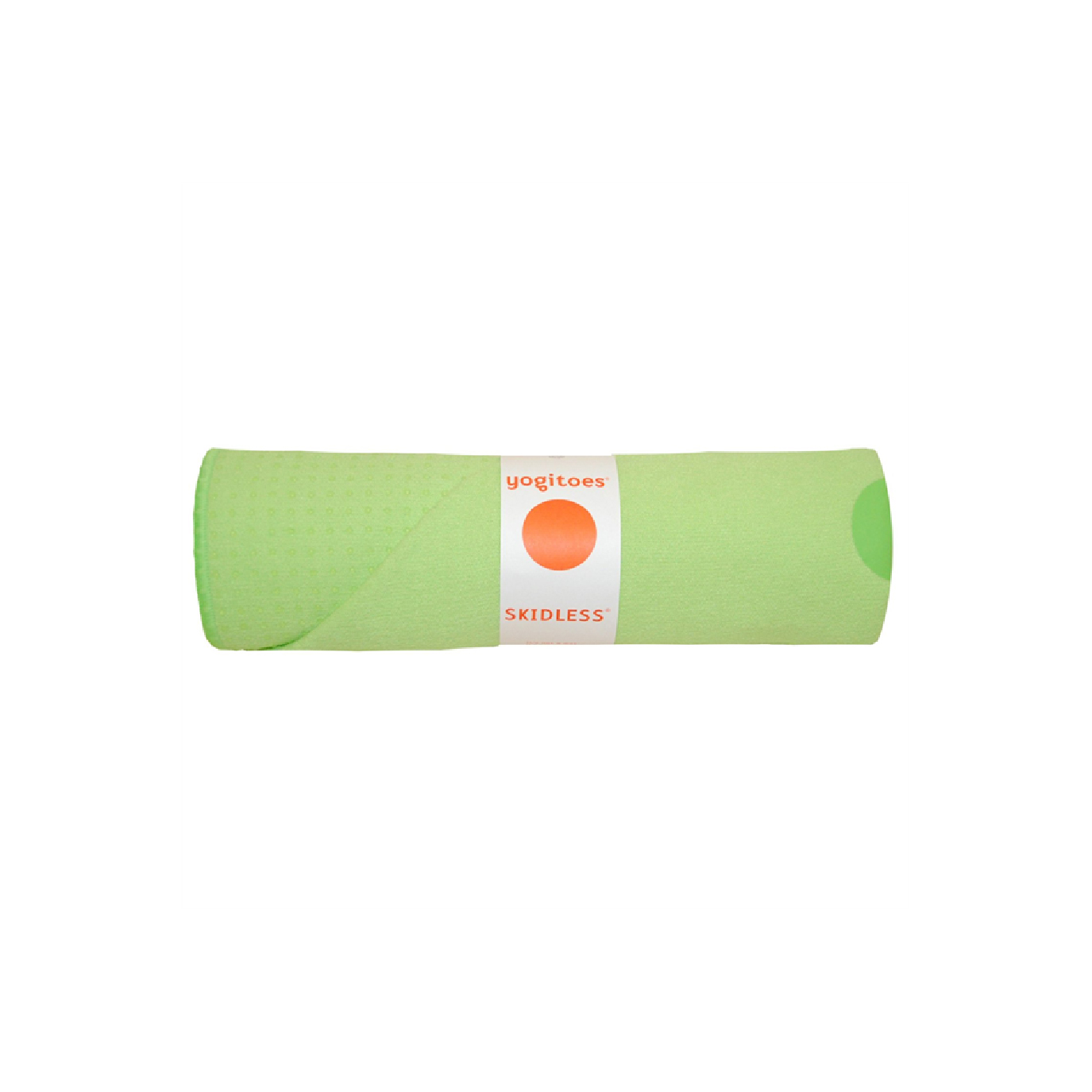 custom branded recycled cotton yoga towell