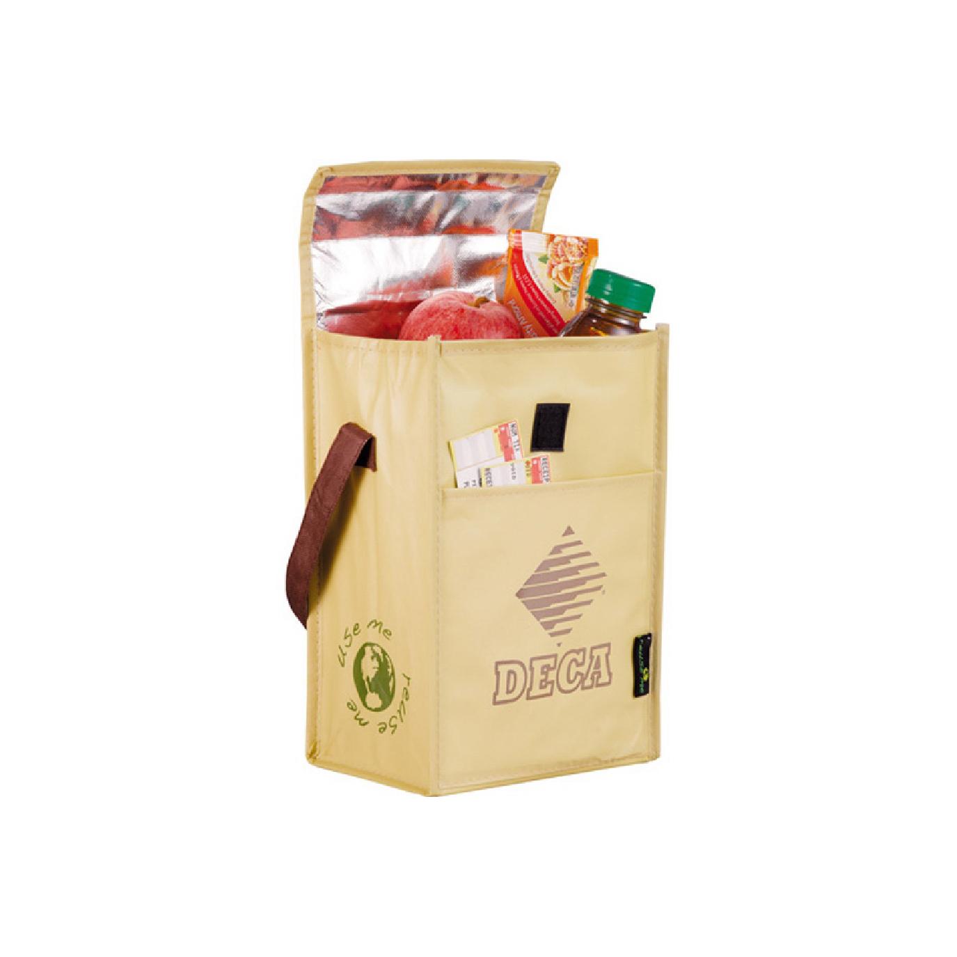 custom organic cotton lunch bag