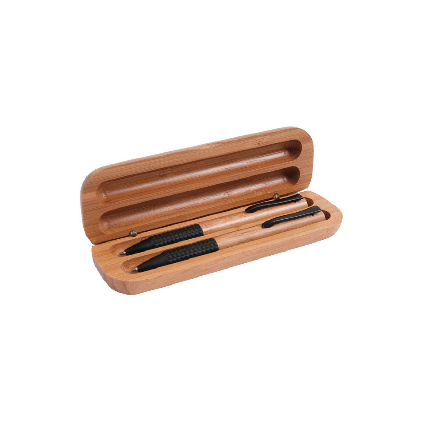 personalized eco bamboo pen gift set