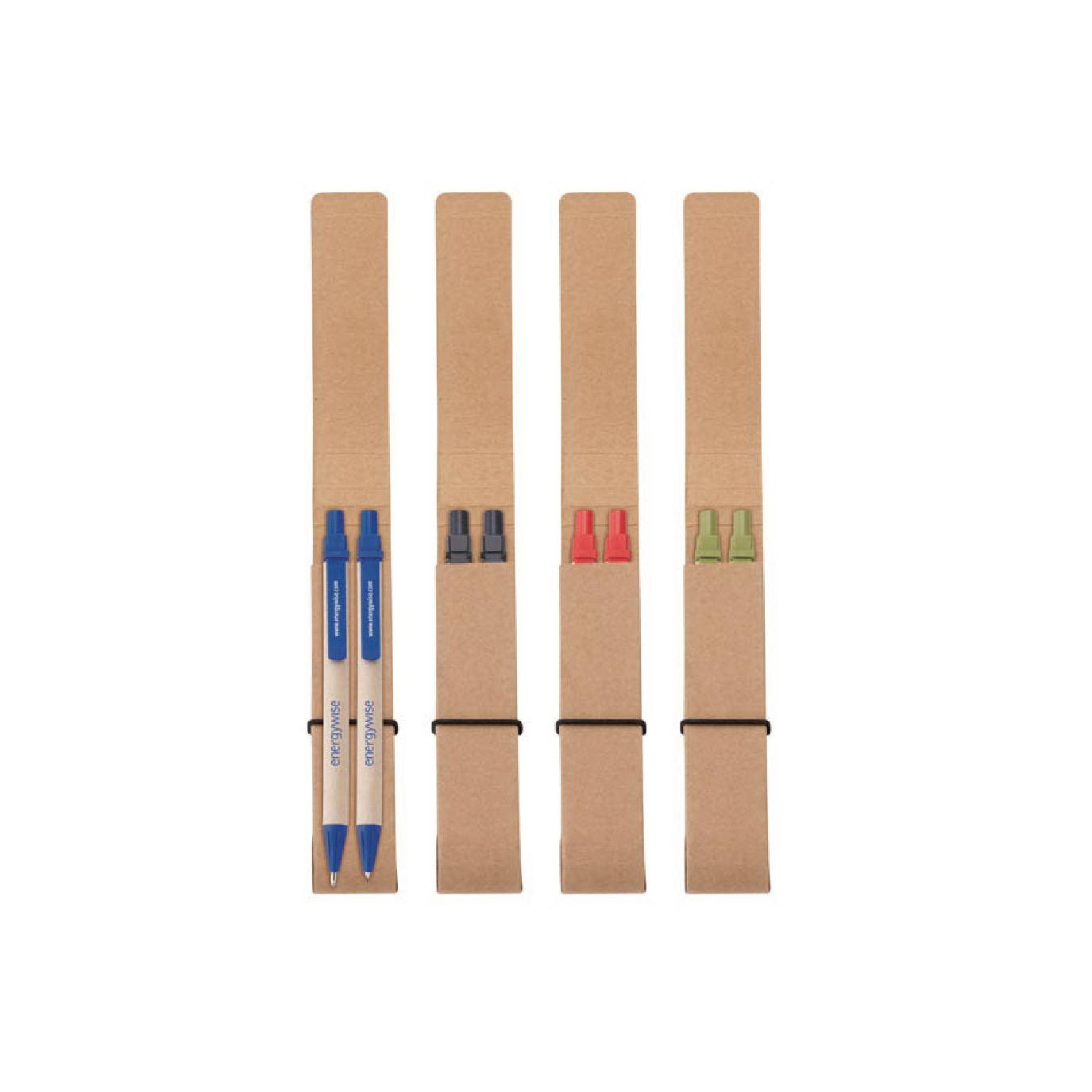 recycled paper pencil set