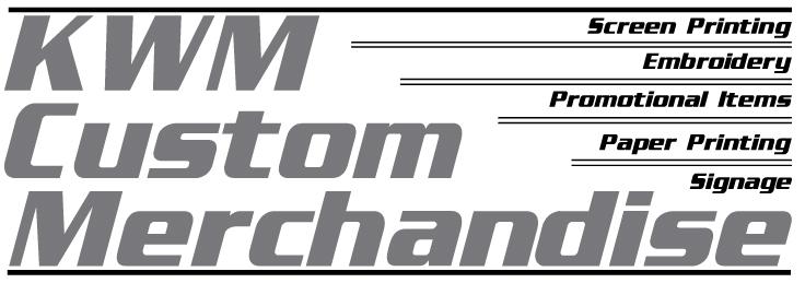 Contact Us - KWM Custom Merchandise