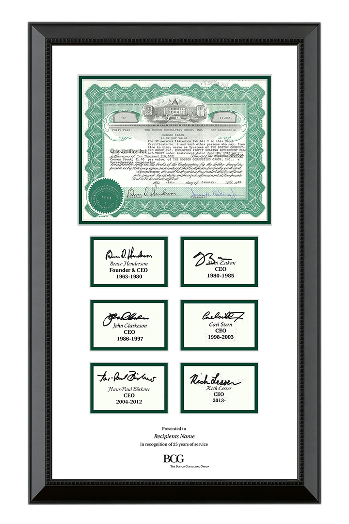 Custom Framing for corporate gifts, branding materials and display ...