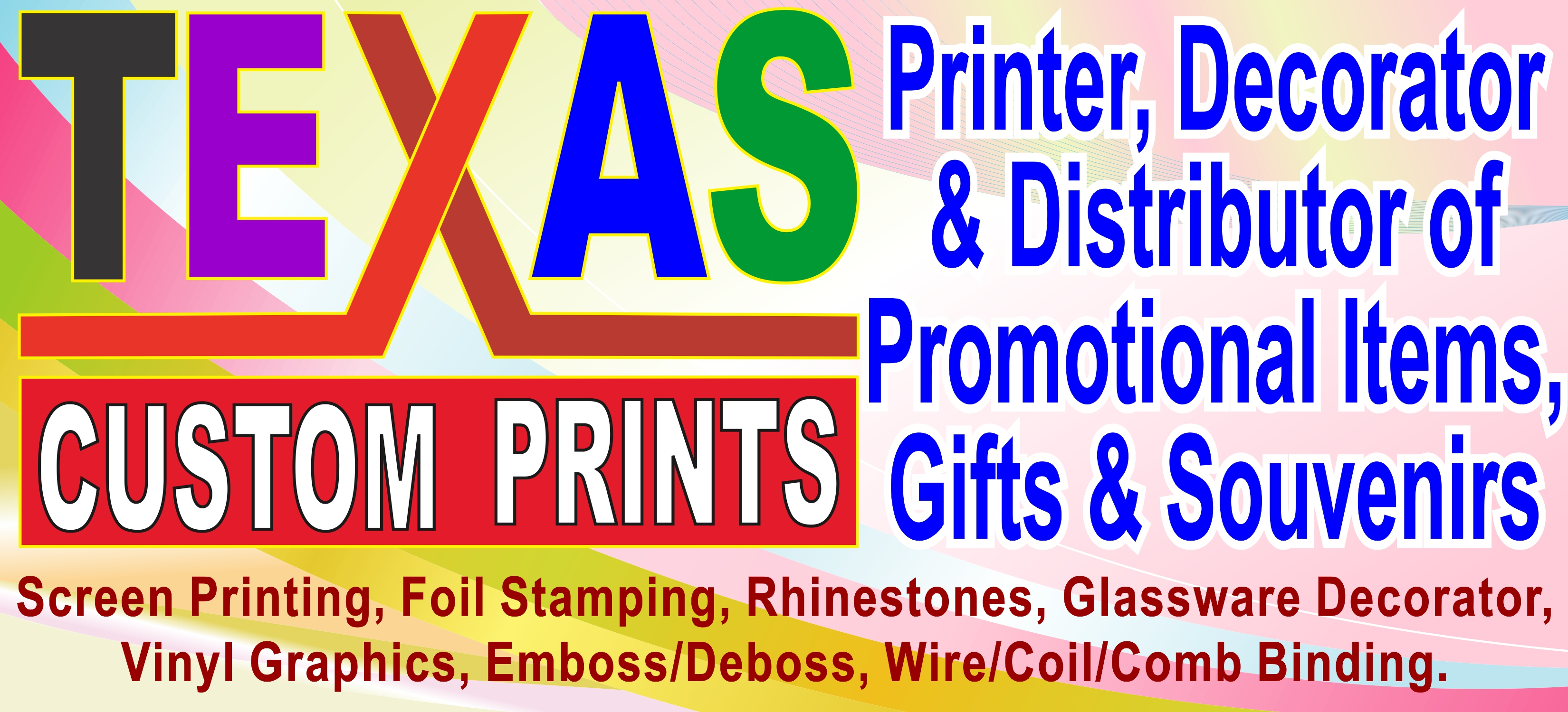 Texas Custom Prints Logo