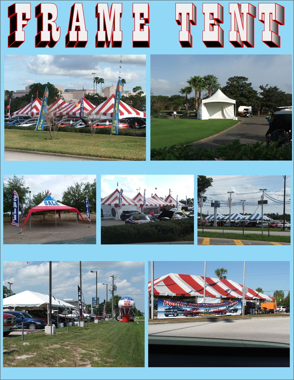 Frame Tents - Direct Sales Marketing of Florida Inc , Orange Ci