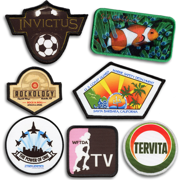 Perfect Print Sublimated Emblems