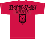 BCTGM Design on shirt