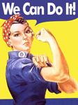 Rosie The Riveter hard hat Design